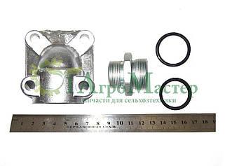 Н-р фланец (угловая муфта) (штуцерS41+кольцо) насос НШ-50