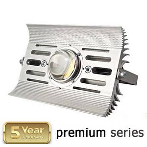 Светильник промышленный для высоких потолков LED HIGH BAY 100W 4500-5500K COB серия PREMIUM