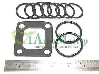 Кольца уплотнения фланцев гидрораспределя Р-160 (кольца+прокладка) К-700, К-701, Т-130, Т-170