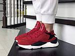 Женские кроссовки Adidas Y-3 Kaiwa (красные) 8837, фото 2