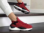 Женские кроссовки Adidas Y-3 Kaiwa (красные) 8837, фото 3