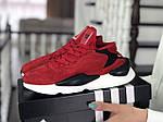 Женские кроссовки Adidas Y-3 Kaiwa (красные) 8837, фото 4