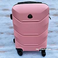 Чемодан для ручной клади на колесах Fly 31 л (маленький) розовый, фото 1