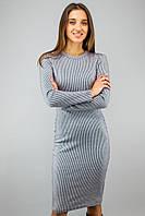 Жіноче плаття ангора полоска  VCS  1801/805  Синьо-білий (XS-XXL)