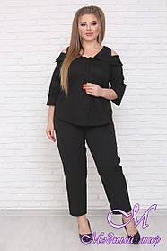 Удобные женские брюки большого размера (р. 42-90) арт. Кэш