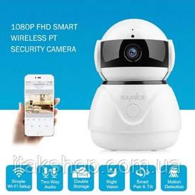 Поворотная Wi-Fi IP камера Sannce HD 1080P Оригинал Escam Wanscam