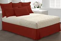 Спідниця для ліжка Винна Модель 7 строгий Мodern, фото 1