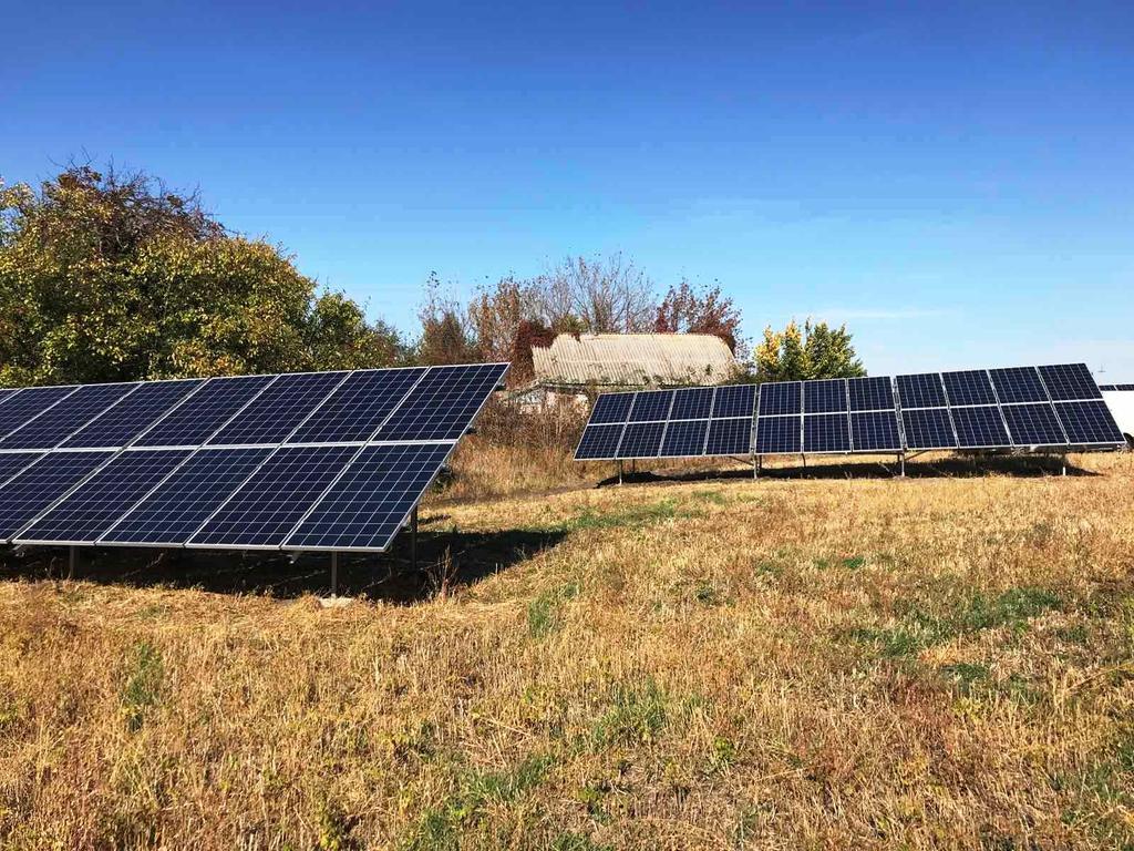 """Фроловка-2 солнечные электростанции под """"зеленый"""" тариф мощностью 25 кВт Leapton + Huawei Киевская область"""
