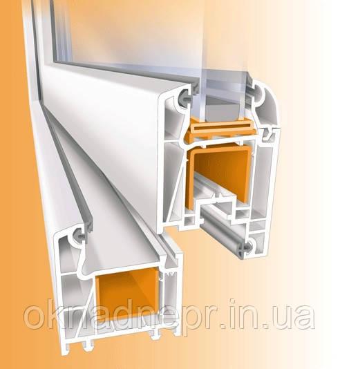 Окна металлопластиковые WDS (5 S) 60мм