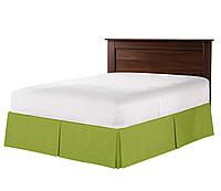Юбка для кровати Салатовая Модель 6 строгий Мodern, фото 1