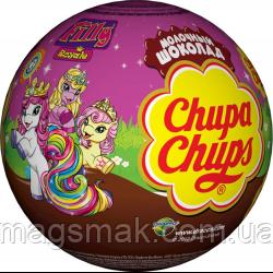 Шоколадний шар яйце c сюрпризом Chupa Chups Choco balls Filly Royale Королівські конячки Філлі, фото 2