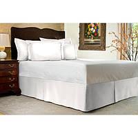Юбка для кровати Белая Модель 1 строгий Мodern, фото 1