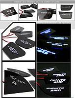 LED-вставки під ручки дверей - Hyundai Elantra MD BRICX)