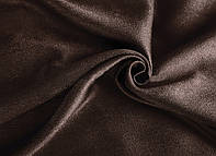 Ткань для штор софт шоколадного цвета
