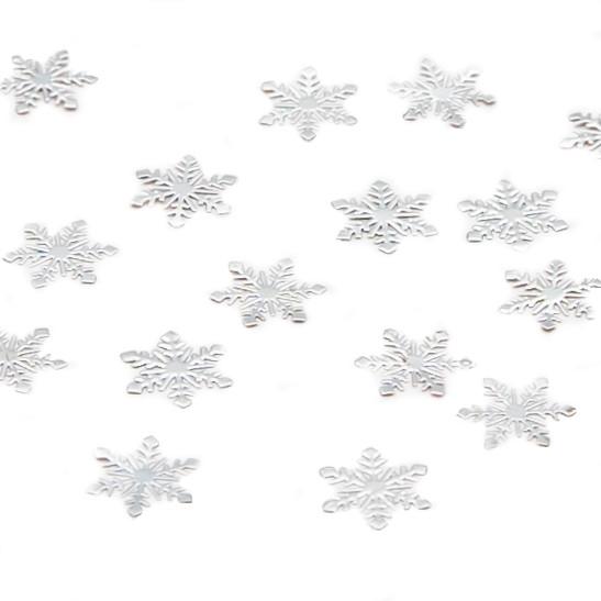 """Металлический декор для ногтей """"Снежинки"""""""