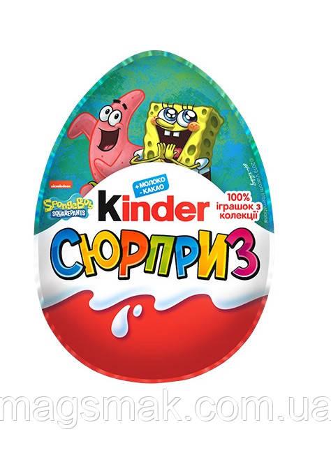 Kinder SpongeBob / Губка Боб 100% игрушка из серии