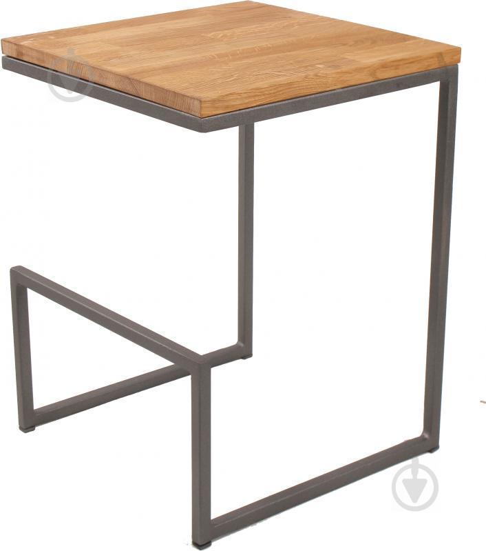 Барные стулья LOFT из металла и натурального дерева