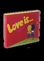 """Шоколад """"Love is"""" 12 плиток"""