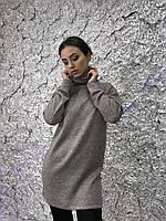 Платье-свитер из ангоры