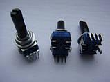 Потенциометр ALPS b100k  (104b) 23mm для пультов, фото 3