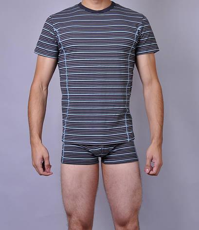 Мужская футболка  C+3 0115 L Синий, фото 2
