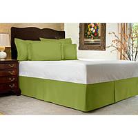 Юбка для кровати Салатовая Модель 1 строгий Мodern, фото 1