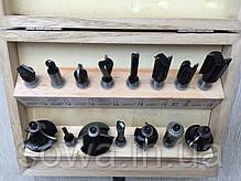 Набор фрез  Euro Craft RS015 - 15 шт, фото 3