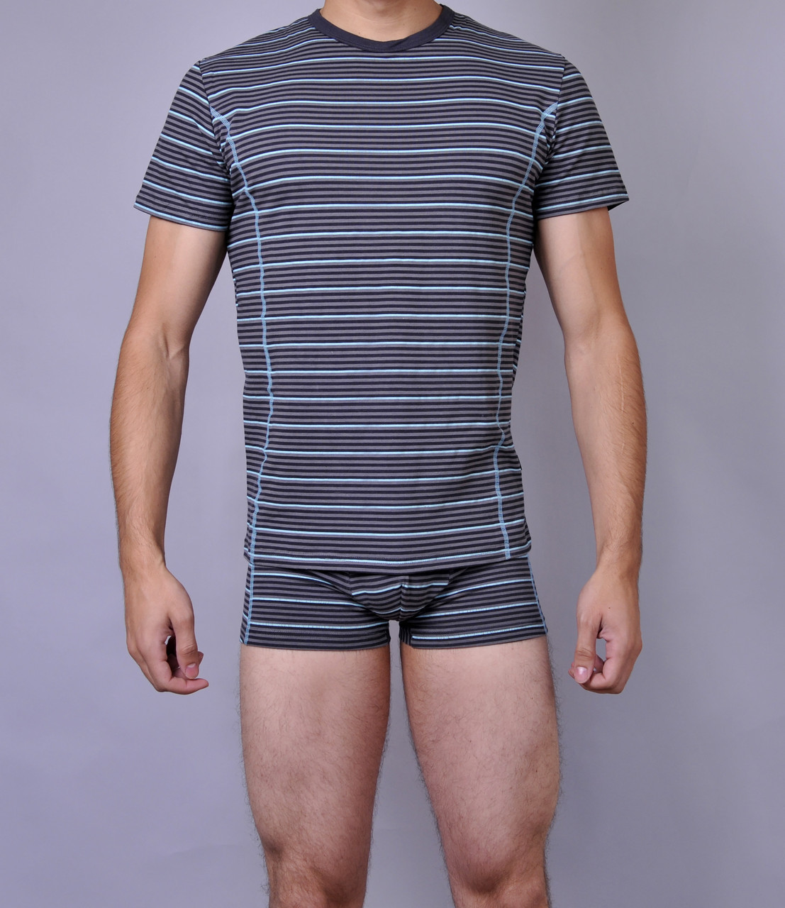 Мужская футболка  C+3 0115 XL Синий