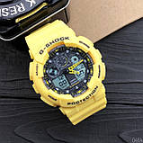 Casio G-Shock GA-100 Yellow-Black, фото 5