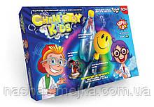 Chemistry Kids. Безпечний навчальний набір для проведення дослідів. №1 (3 досліди в наборі) (СНК-02-01 Синій)