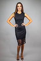 Вечернее платье женское кружевное черный цвет бренд VCS