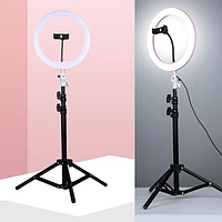 ✅Кольцевая лампа 35 см на штативе 2м / кільцева лампа / кольцевой свет / диодная лампа
