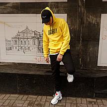Мужская кофта - Худи SECURITY, желтая, фото 3