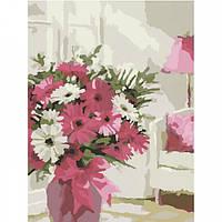 Картина по номерам Идейка Цветы Яркие герберы 30*40 (KHO2919)
