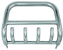 Защита переднего бампера (кенгурятник)  Chevrolet Niva 06+