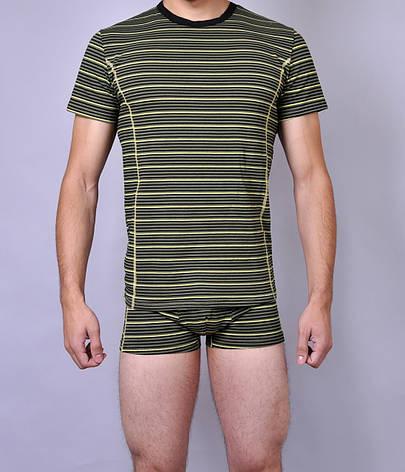 Мужская футболка  C+3 0115 XL Зеленый, фото 2
