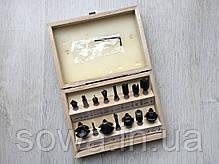 Набор фрез к фрезеру  Euro Craft RS015  15 шт, фото 2