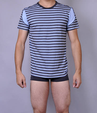 Мужская футболка  C+3 0114 M Полосатый, фото 2