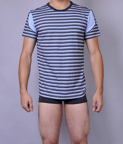 Мужская футболка  C+3 0114 L Полосатый, фото 2