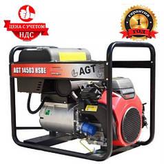 Бензиновый генератор AGT 14503 HSBE R16 (13.5кВт. 380В)