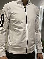 Мужская кофта Bikkembergs белая,Германия XXL