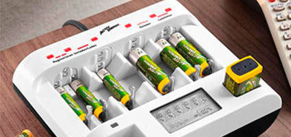Батареи, аккумуляторы, зарядки, кабели