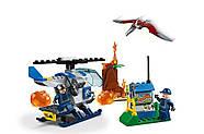 "Конструктор Bela 10918 (АналогLego Junior Jurassic World 10756) ""Побег птеранодона"" 96 дет., фото 3"
