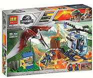 "Конструктор Bela 10918 (АналогLego Junior Jurassic World 10756) ""Побег птеранодона"" 96 дет., фото 2"