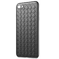 Чехол Baseus для iPhone SE 2020/8/7 BV Weaving Case, Black (WIAPIPH8N-BV01), фото 1