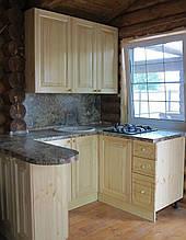 Кухня из массива дерева 004