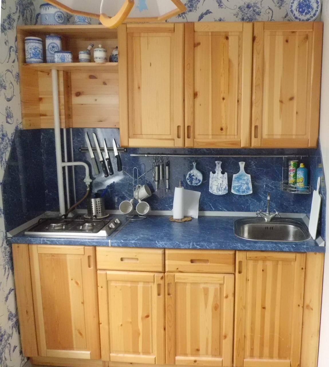Кухня из массива дерева 007