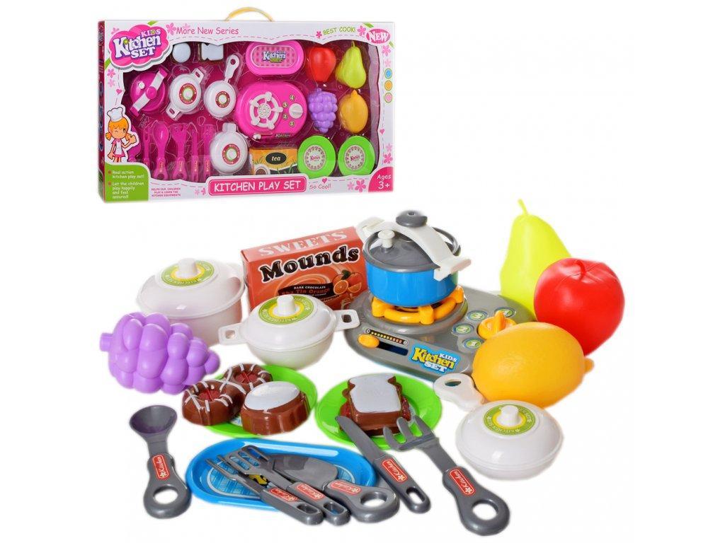 Посуда 8702-03 - детский игровой набор кухонных принадлежностей