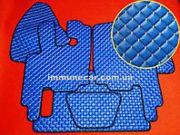 Автомобильные ковры экокожа DAF XF 95 АКП синие