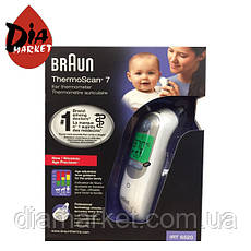 Инфракрасный УШНОЙ термометр Braun ThermoScan 7 IRT6520